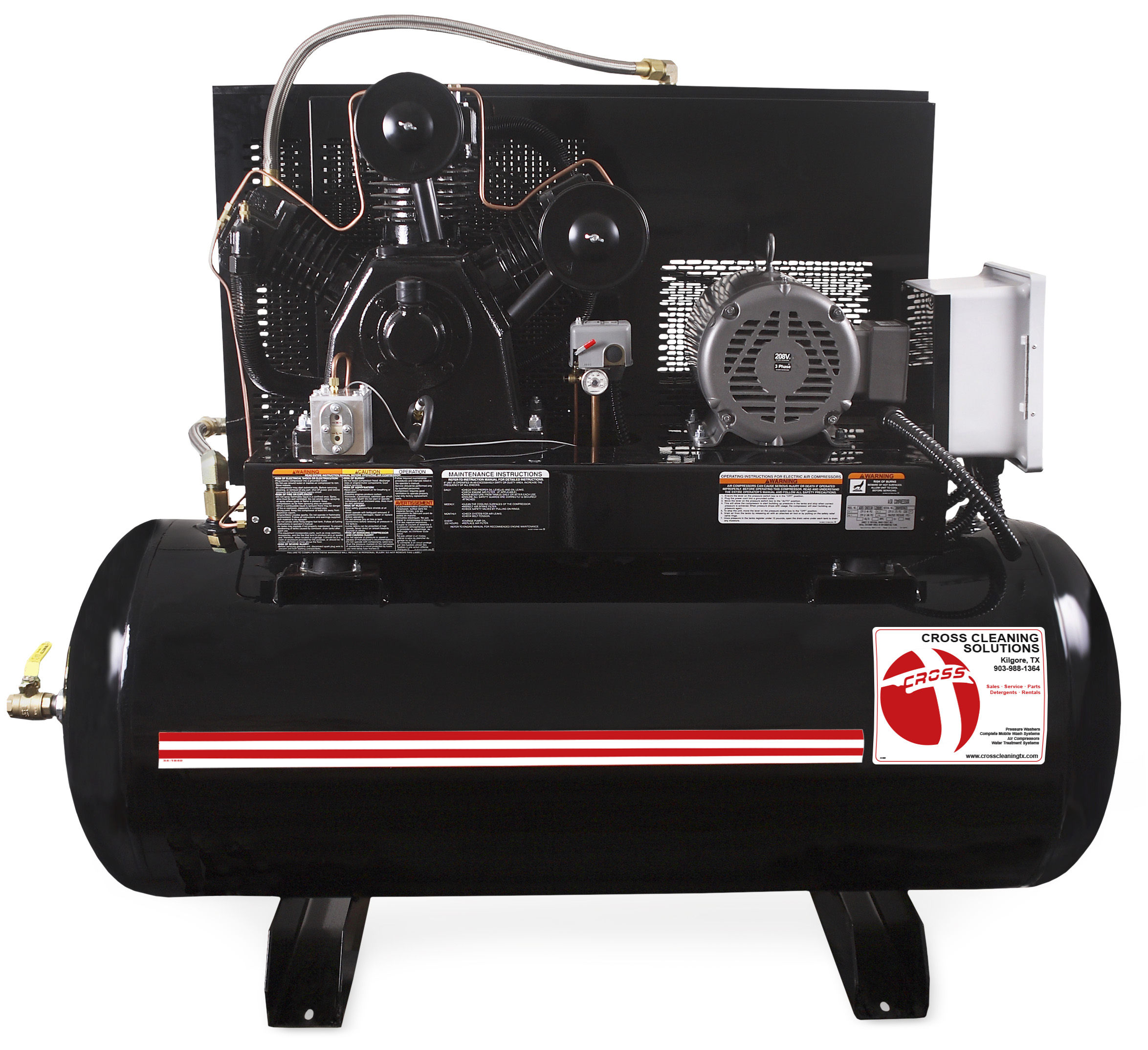 M Series Two Stage Electric Air Compressor