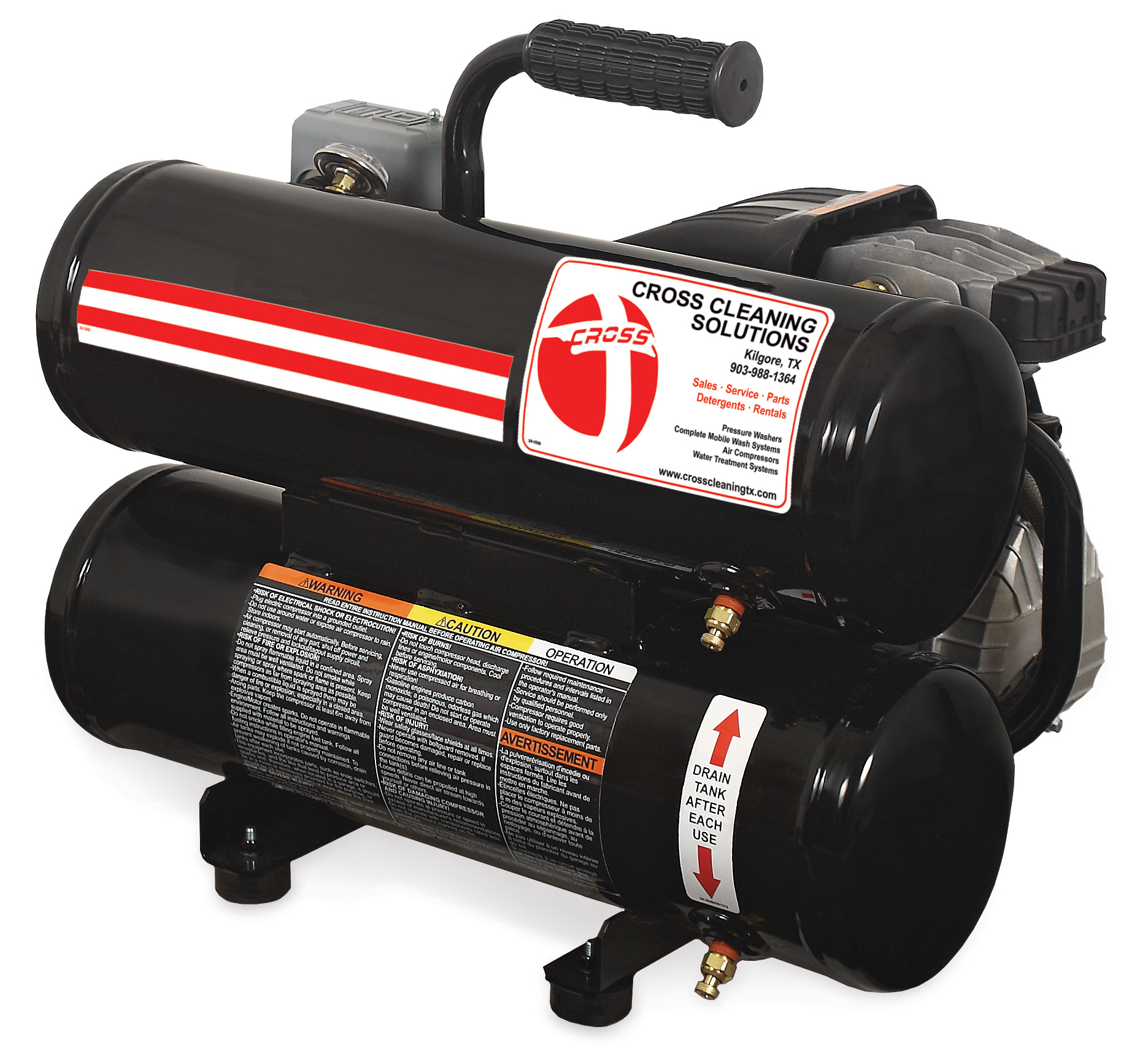 5 Gallon Single Stage Electric Air Compressor