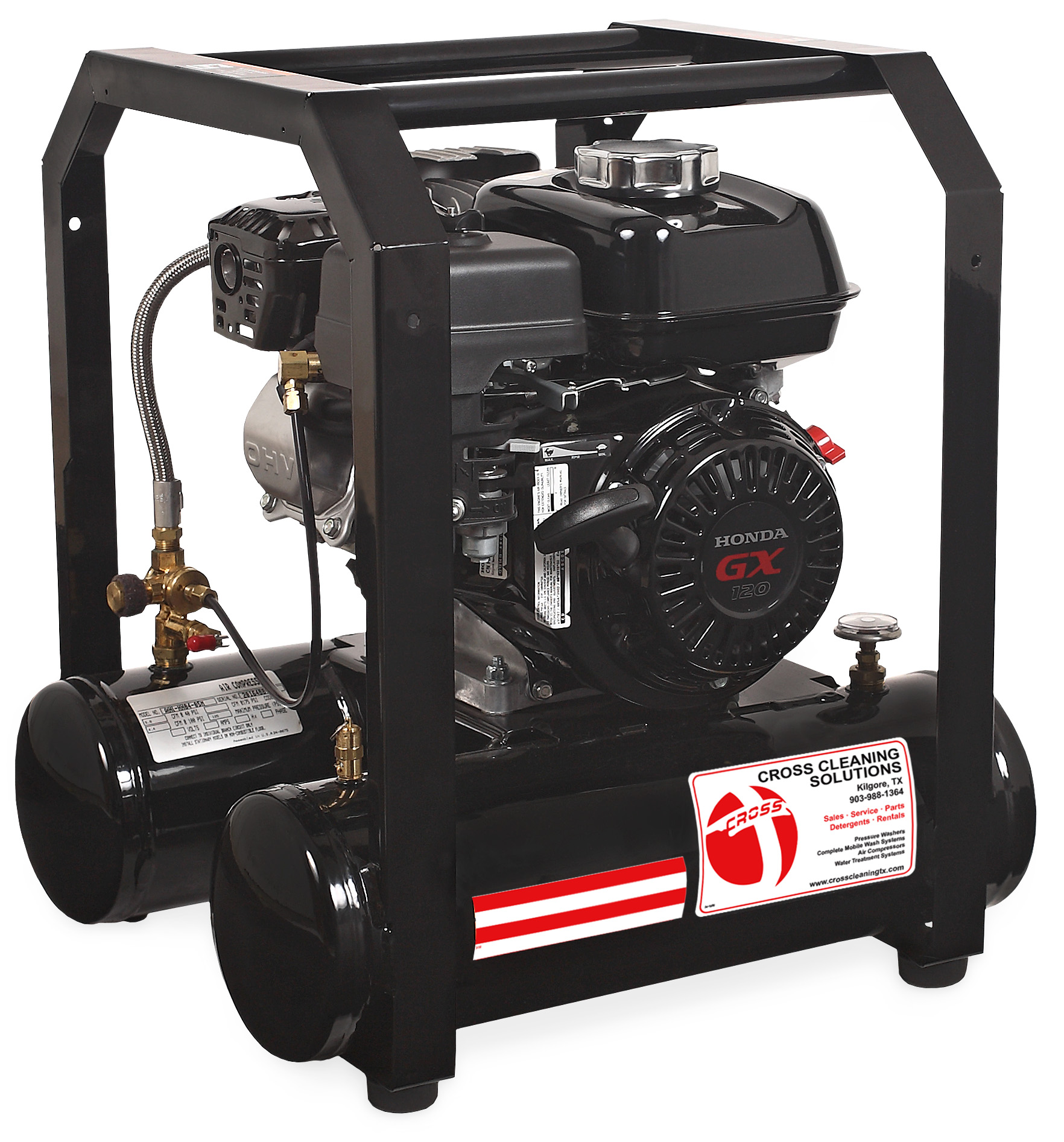 5 Gallon Single Stage Gasoline Air Compressor