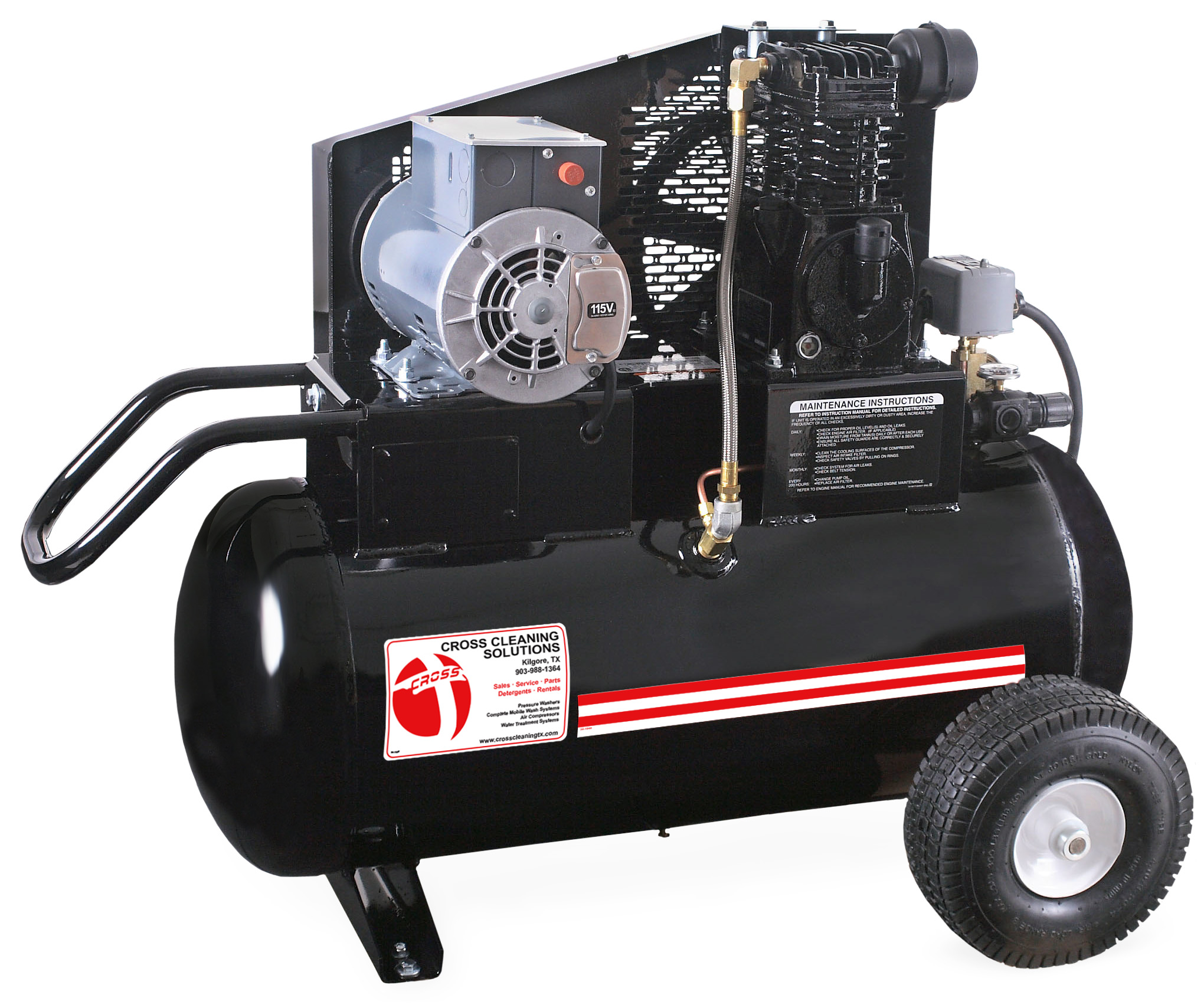 20 Gallon Single Stage Electric Air Compressor