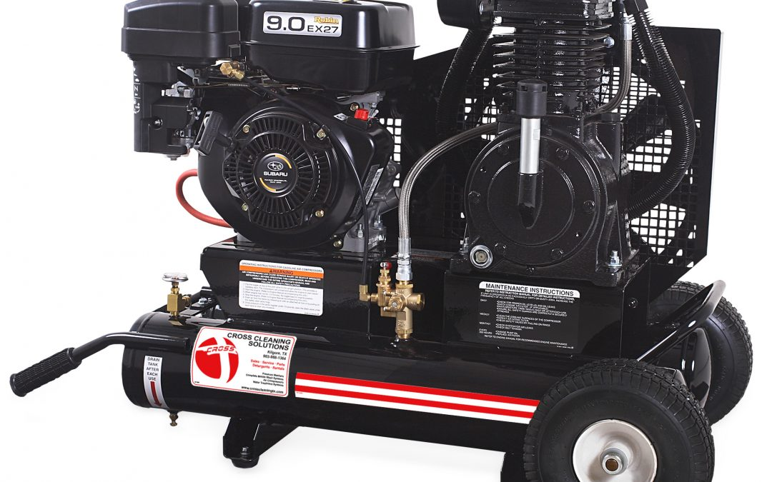 8 Gallon Two Stage Gasoline Air Compressor