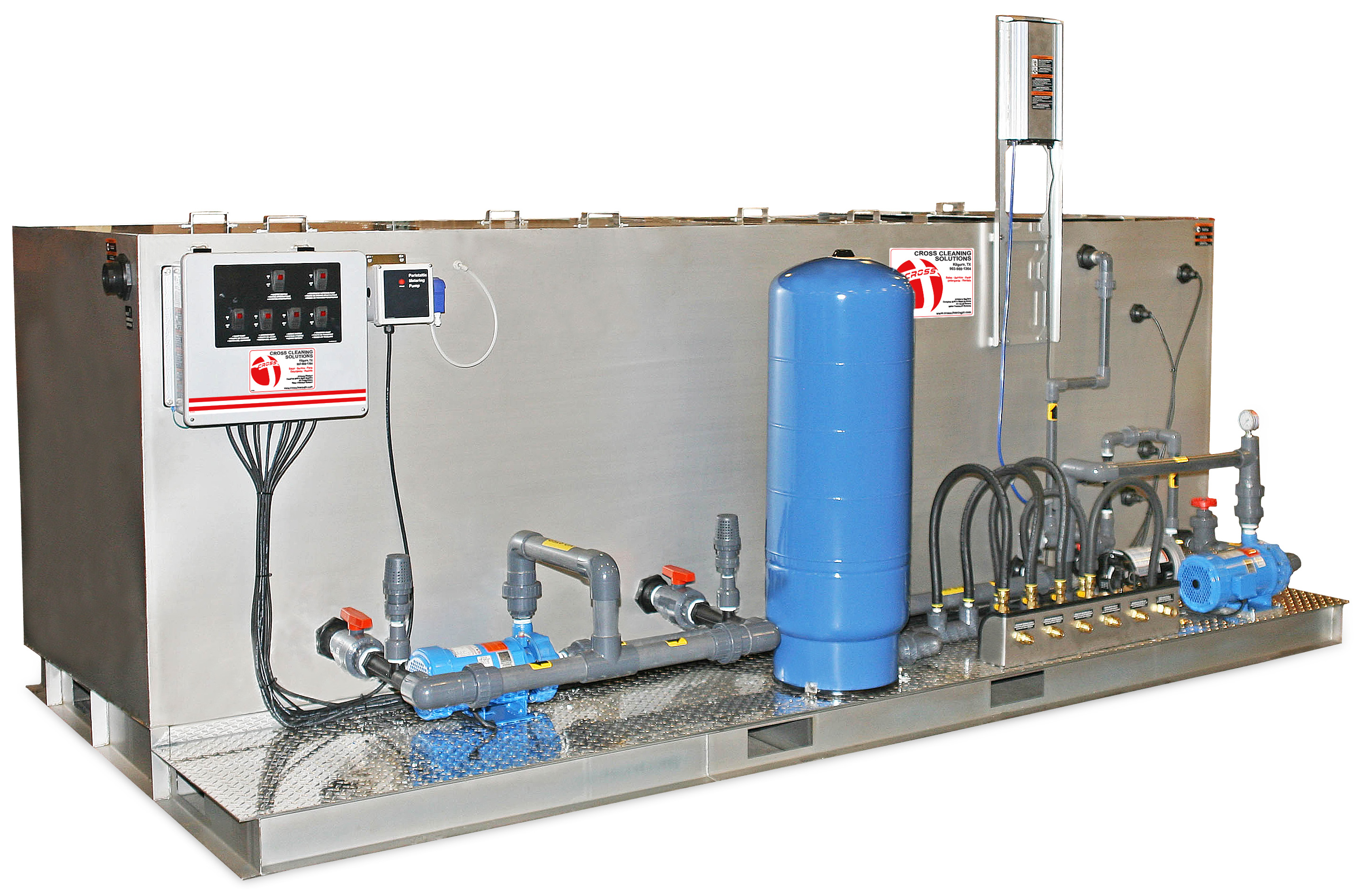BIO Series Biological Recycle/Discharge Water Treatment System