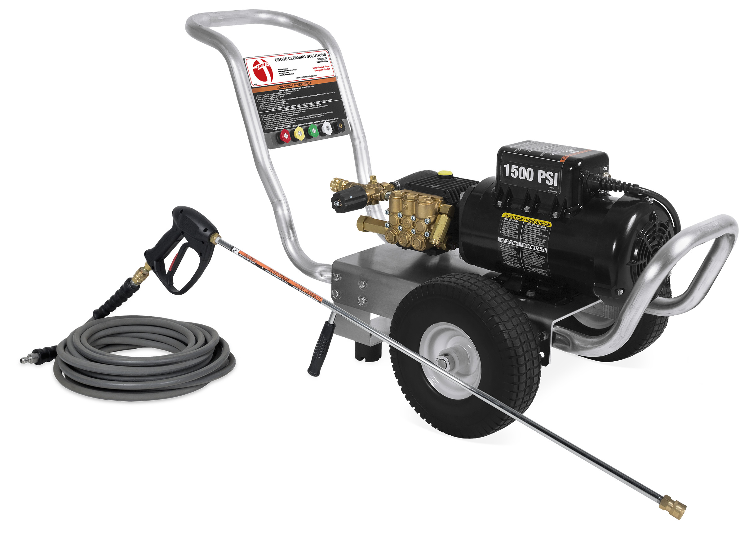 CA Aluminum Series Direct Drive Electric Cold Water Pressure Washers