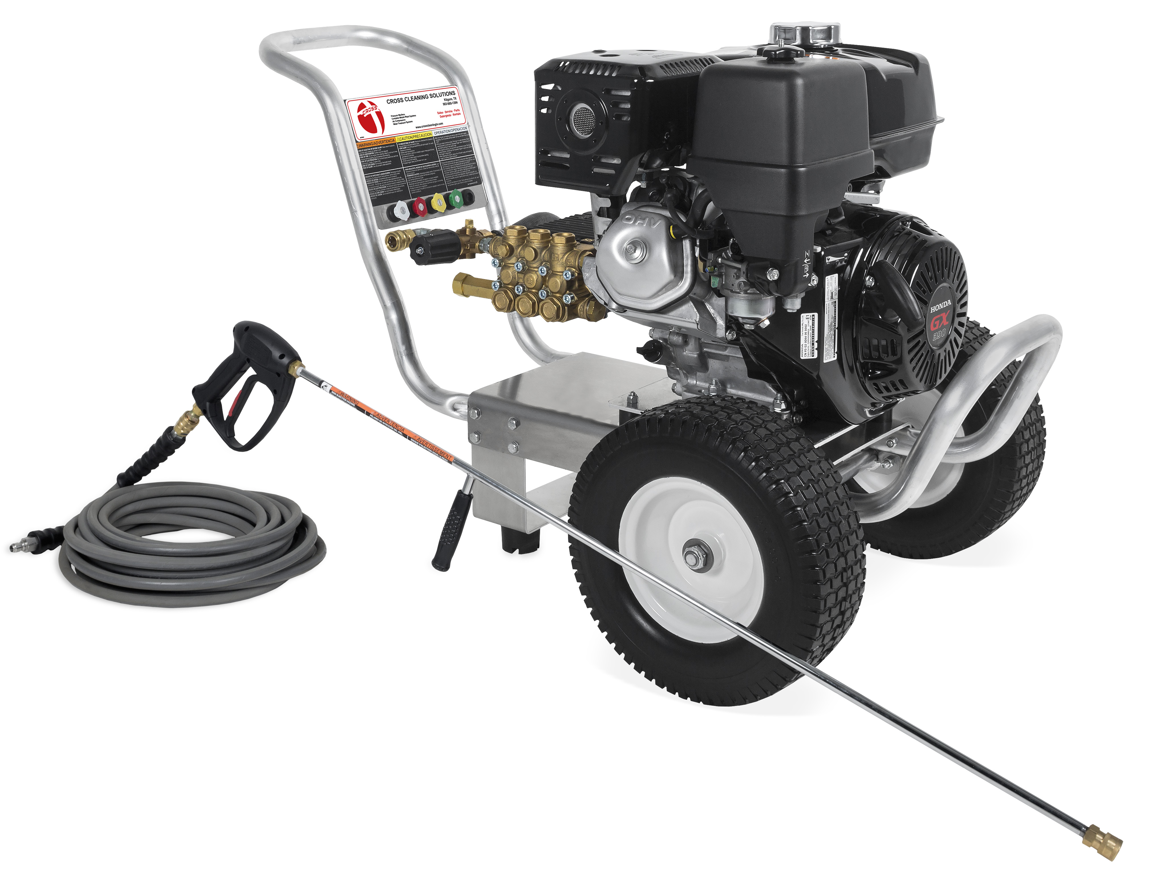 CA Aluminum Series Direct Drive Gasoline Cold Water Pressure Washers