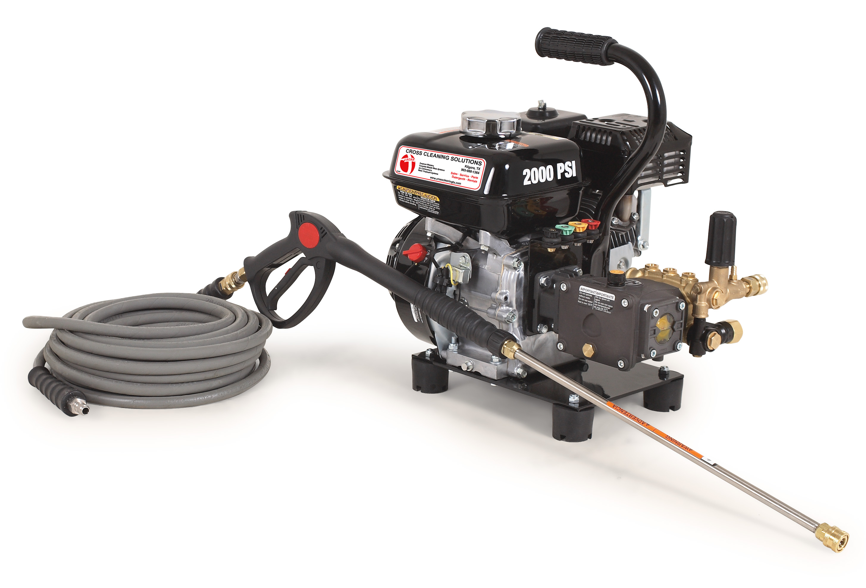 CD Series Direct Drive Gasoline Cold Water Pressure Washers