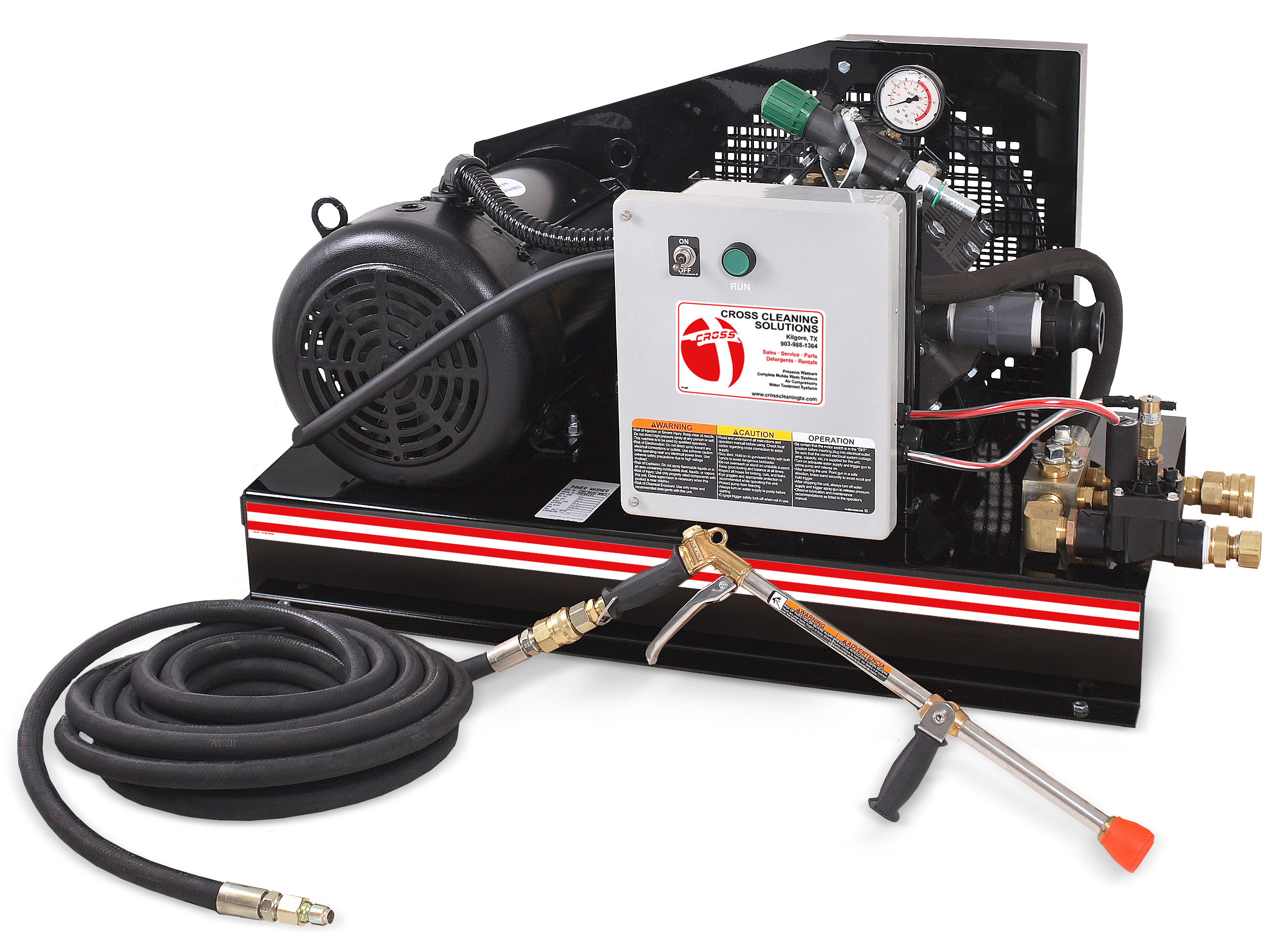 CHV Series Cold Water Pressure Washers Water Treatment System