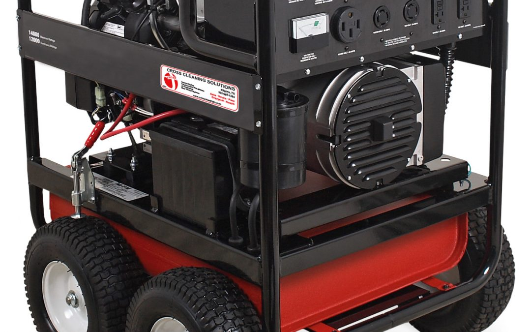 13000 & 14000-Watt Gasoline Portable Generator