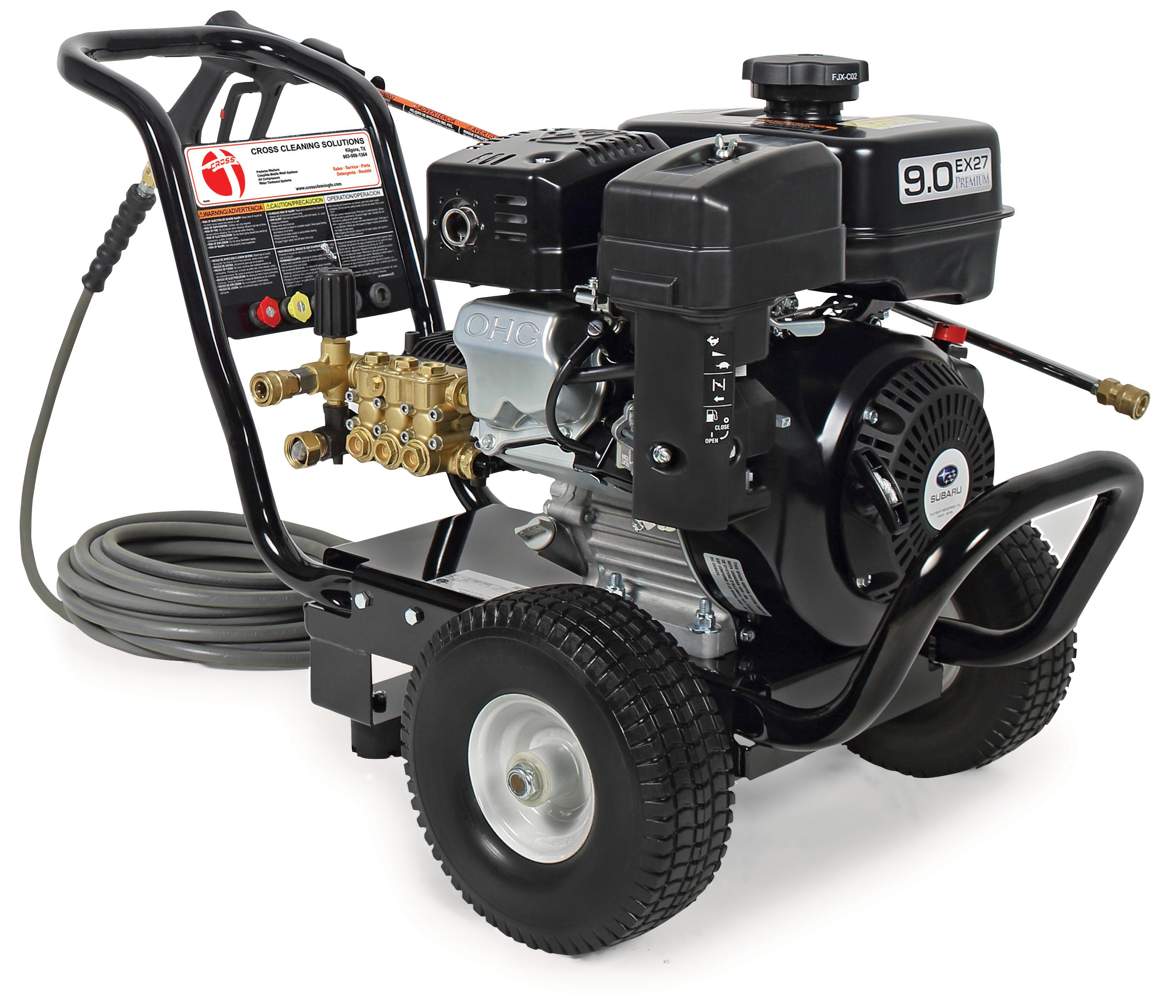 JP Series Direct Drive Gasoline Cold Water Pressure Washers