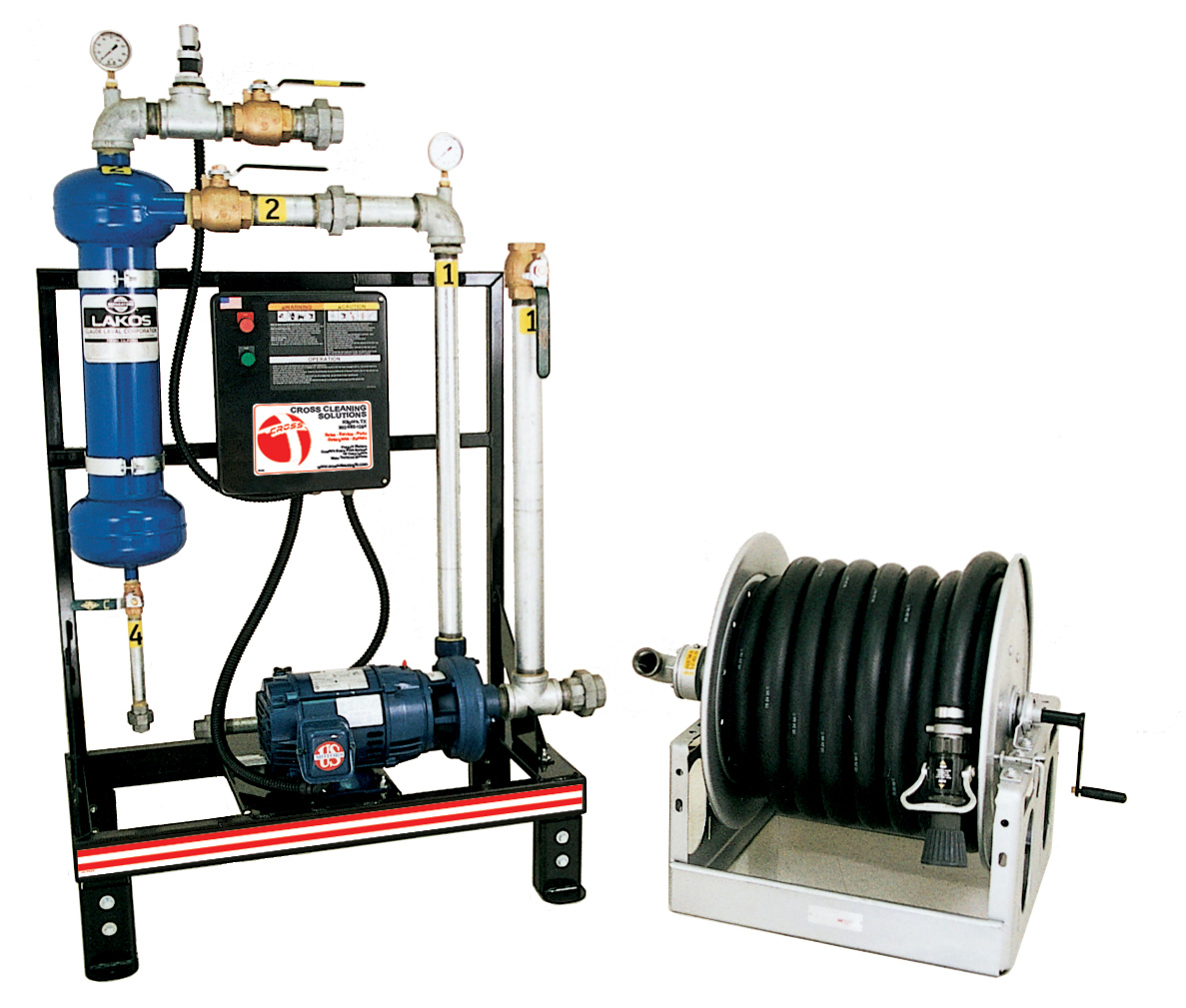 WC Series High-Volume Water Cannon Systems Water Treatment System