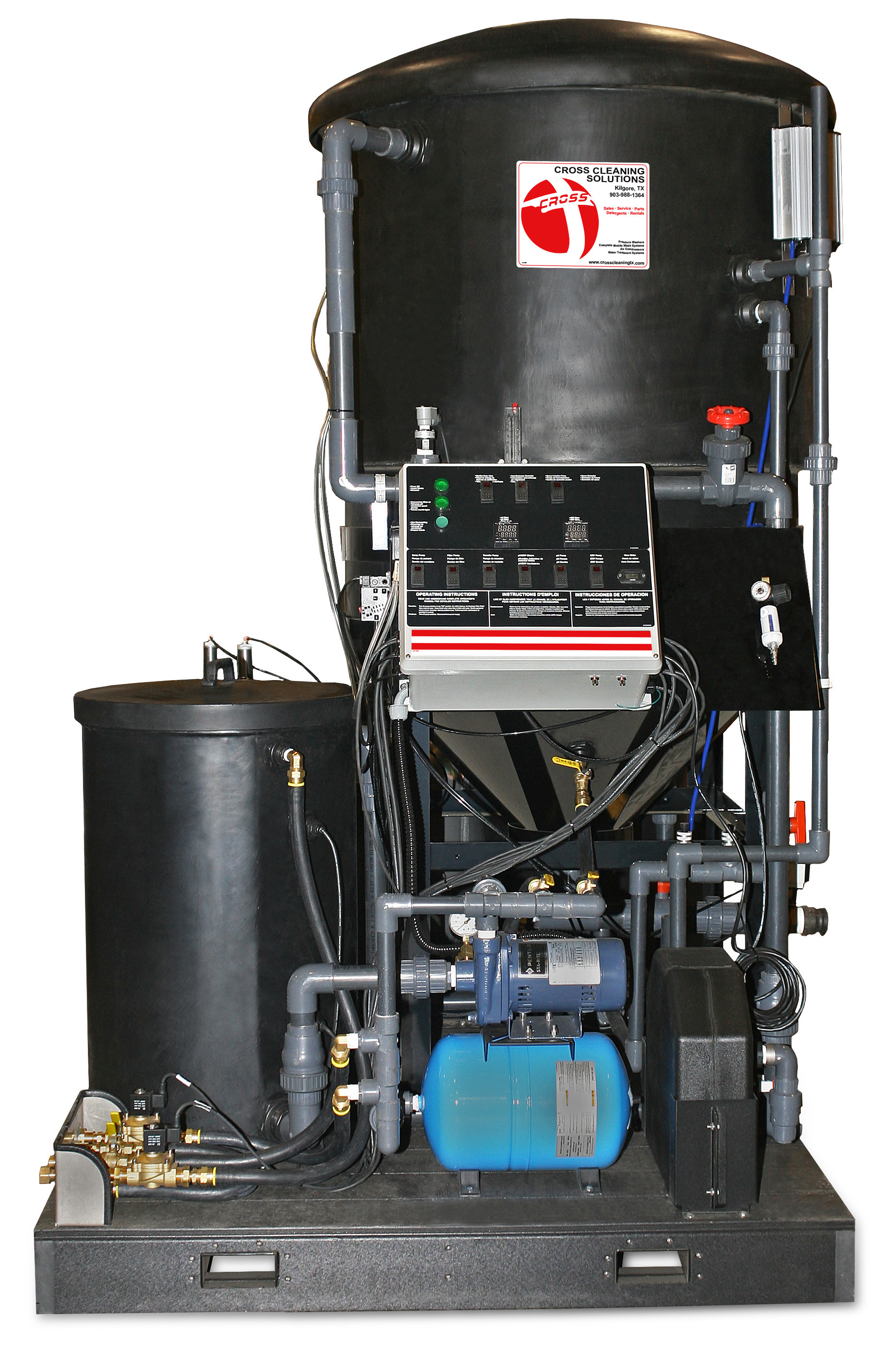 WCP Series Clarifier Wash Water Recycle Systems Water Treatment System