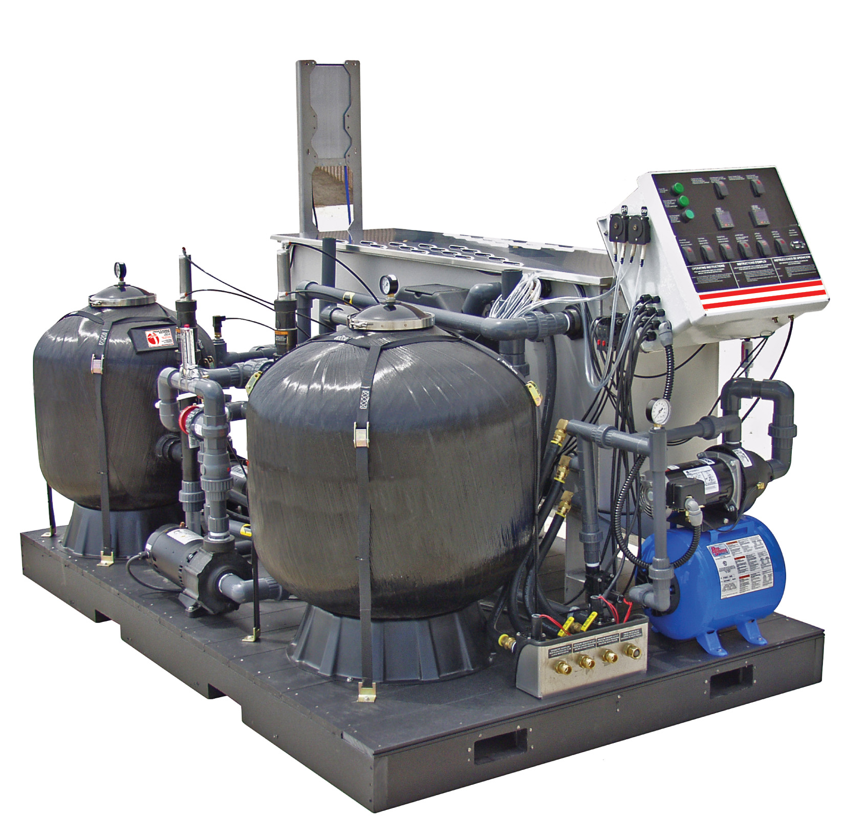 WLP Series Advanced Wash Water Recycle Systems Water Treatment System