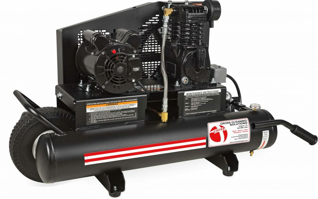 8-Gallon Single Stage Electric