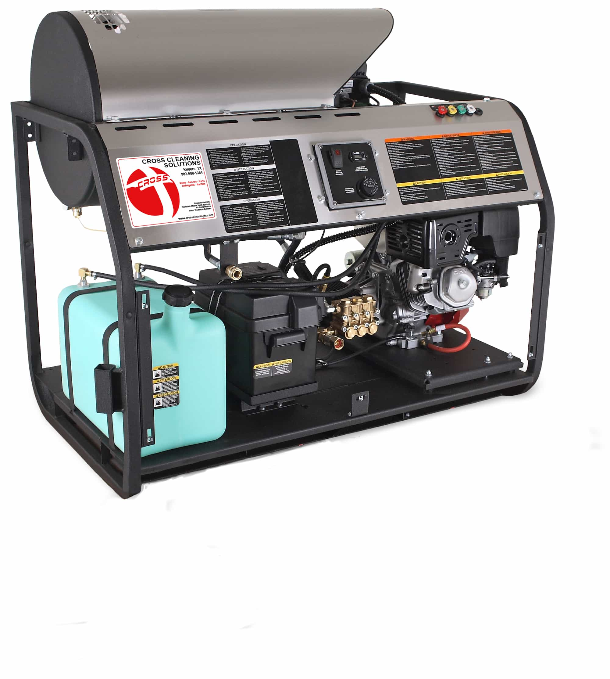 HDD Series Skid Gasoline Direct Drive