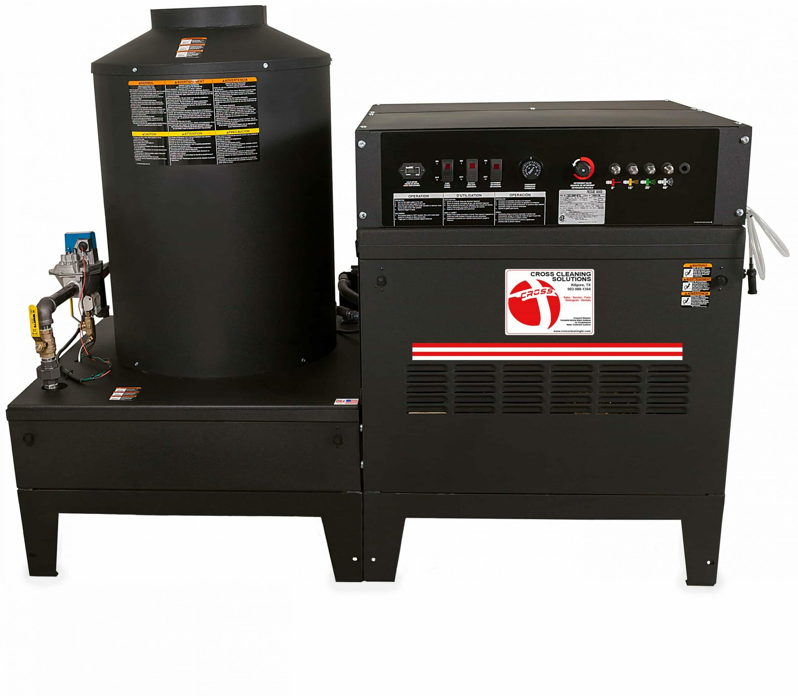 HEG HV Series Stationary Natural Gas LP Belt Drive