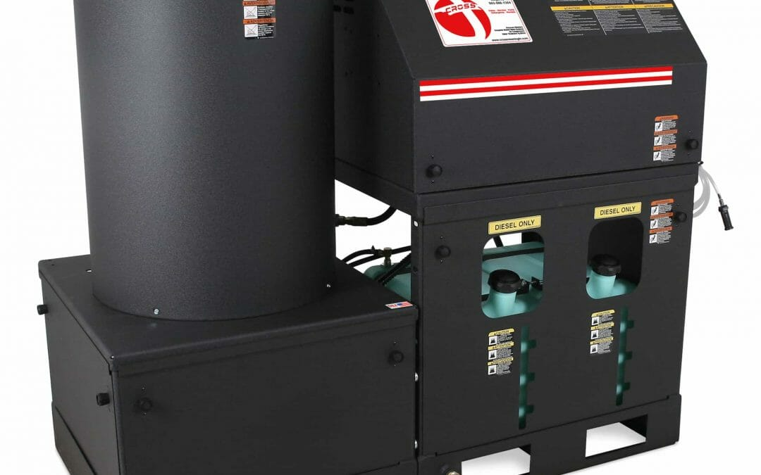 HEO Series Stationary Oil-Fired Belt Drive_