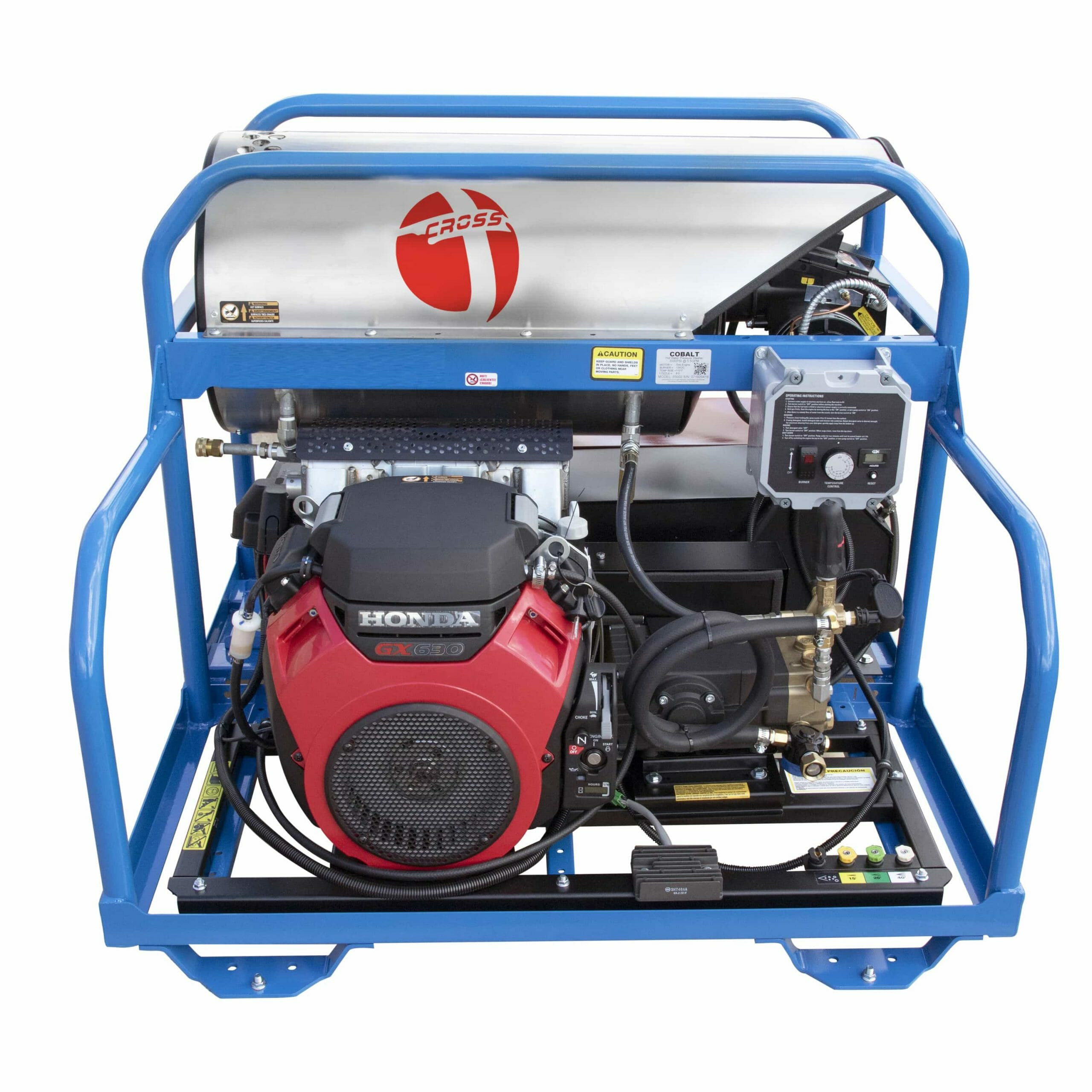 Twin Cylinder Hot Water Diesel Pressure Washer