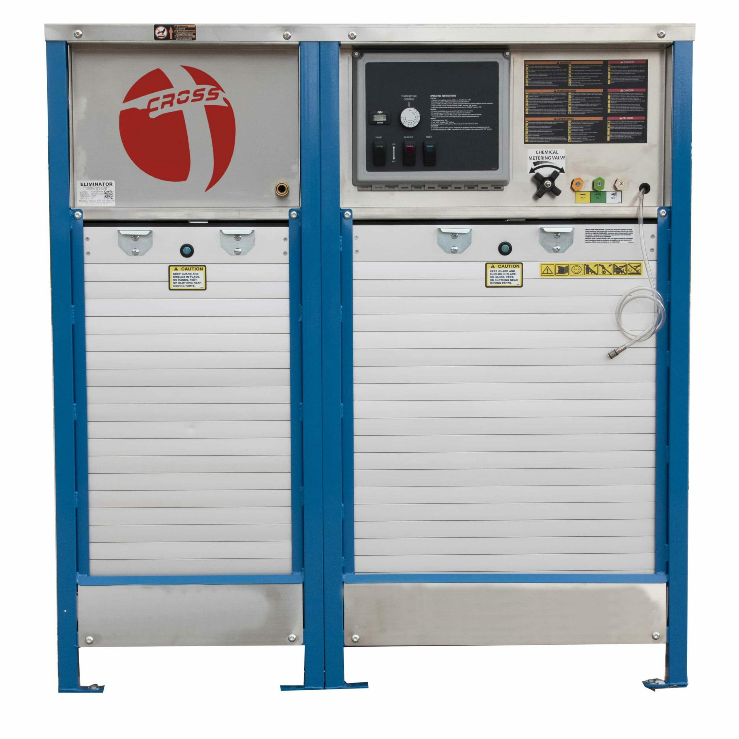Industrial Stationary Cabinet Hot Water Pressure Washer