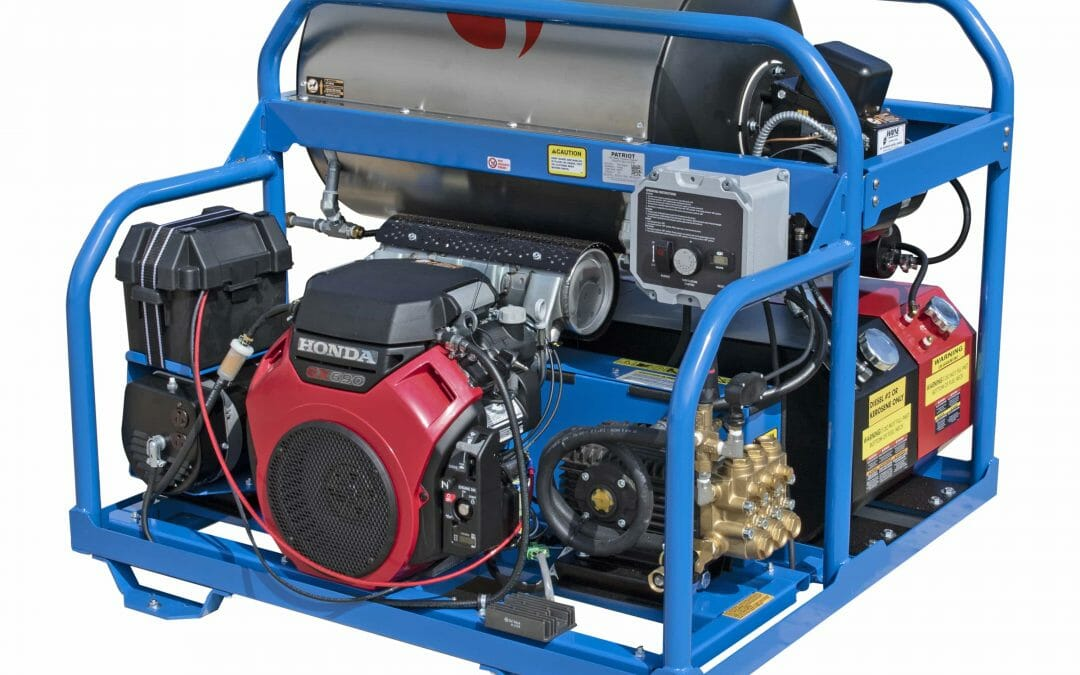 Hot Water Portable or Stationary Diesel Pressure Washer