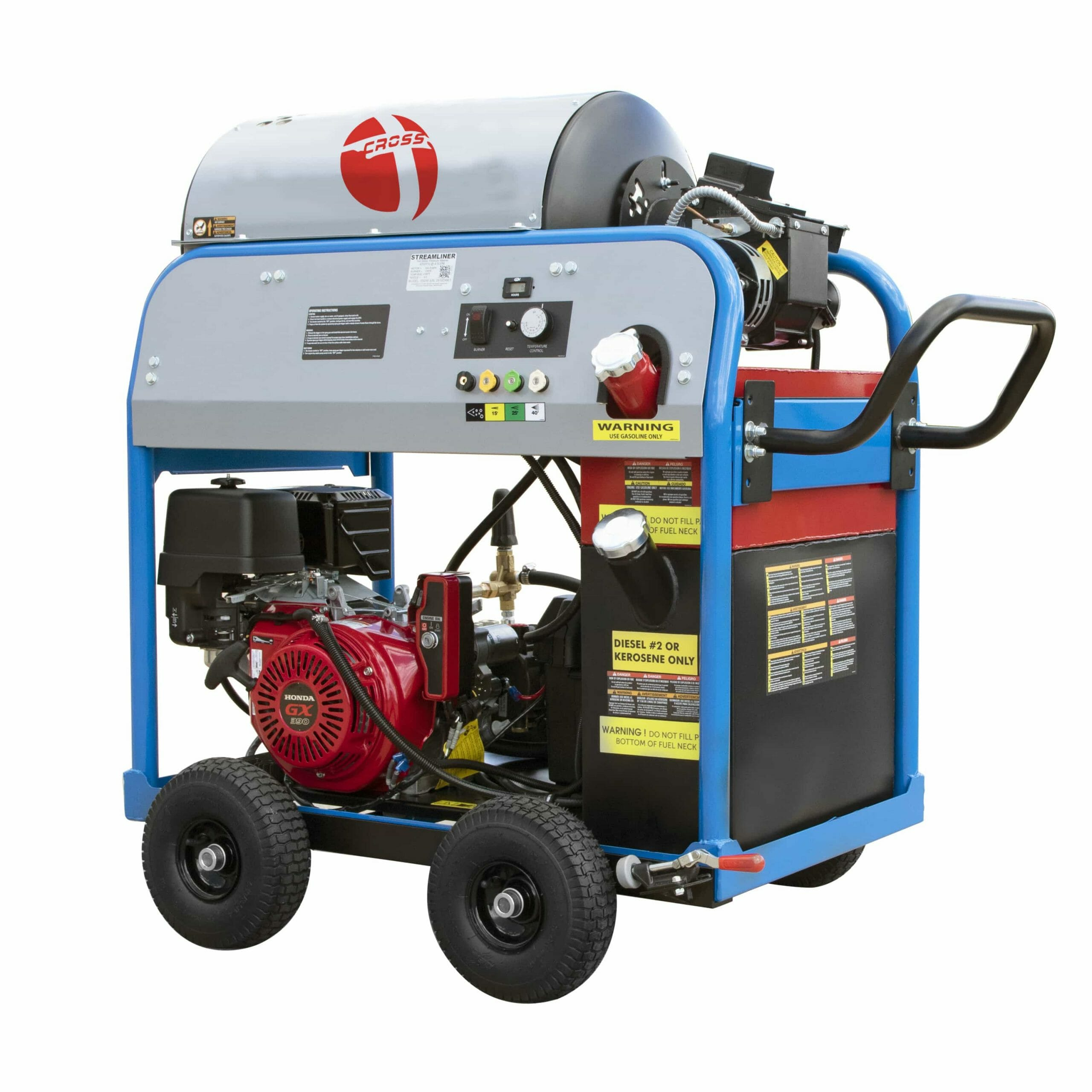 Mobile Compact Hot Water Pressure Washer